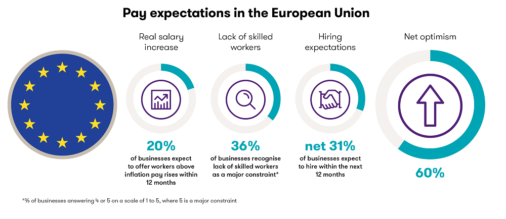 EU pay expectations graphic